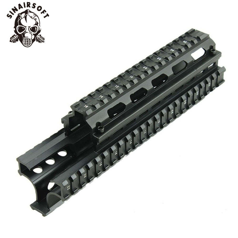 Sinairsoft AKs Saiga 7 62x39 Tactical Quad Rail with 8 pcs Rail Covers Free Shipping