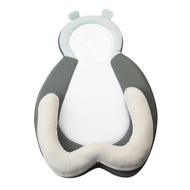 Cute Bear Portable Baby Crib Sleep Pillow Multi-functional Nursery Travel Positioning Pad Folding Baby Bed Infant Toddler Cradle