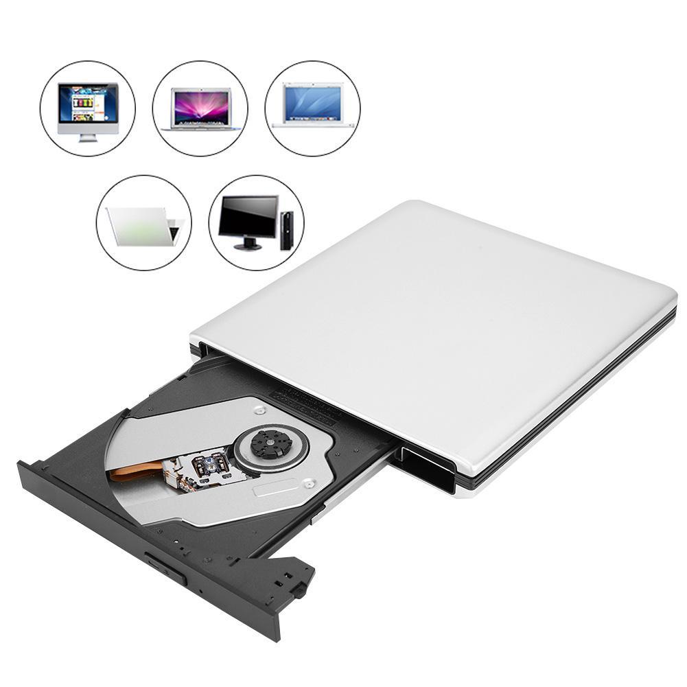 USB3 0 Blu Ray Laptop PC External Optical Drive Disc Burner DVD CD BD Writer Recorder