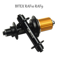 Taiwan Brand Bitex RAF10 RAF9 Bearing Hub 260g Only Super Light Weight Road Bike 20 24 Hole Shimao Or Campagnolo Freebody