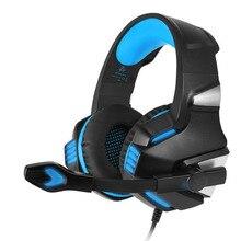 V3 Gaming Fone de Ouvido Noise Isolando Fone de Ouvido Fone de Ouvido Com Microfone Fones De Ouvido Confortáveis Over-Ear Stereo Música de Computador Para Jogos