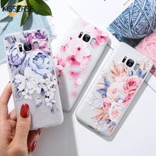 KISSCASE 3D Emboss Floral Case For Xiaomi Redmi 6 Pro 5 Plus 4X 5A Soft Silicone Phone Note 4 6pro Back