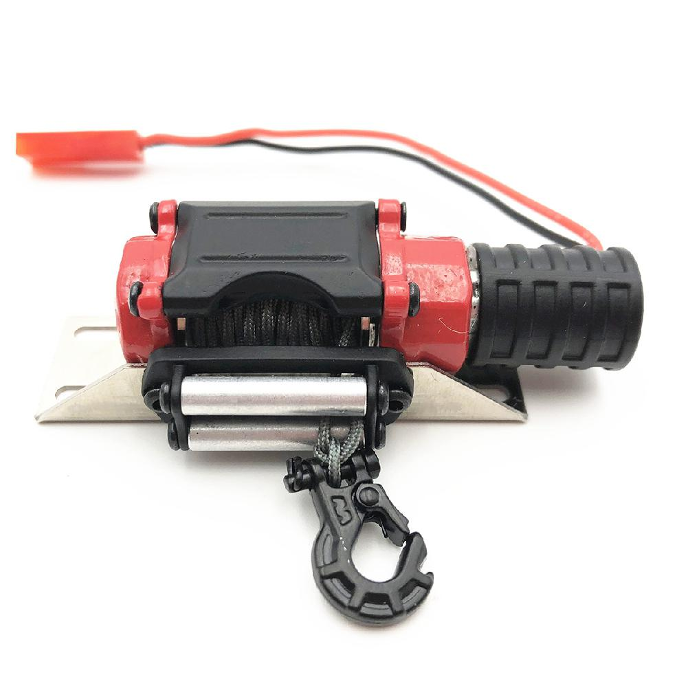 LeadingStar Electric Capstan Metal Winch Traction for 1/10 RC CAR SCX10 D90 D110 TF2 TRX4 KM2 Lahore