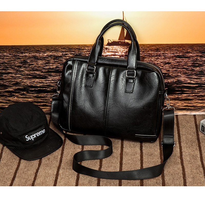Man Office Bag Leather Handbags Men Messenger Bag Fashion Man Handbag Business Bags Male Briefcase Laptop Bolsa Masculina 2019Man Office Bag Leather Handbags Men Messenger Bag Fashion Man Handbag Business Bags Male Briefcase Laptop Bolsa Masculina 2019