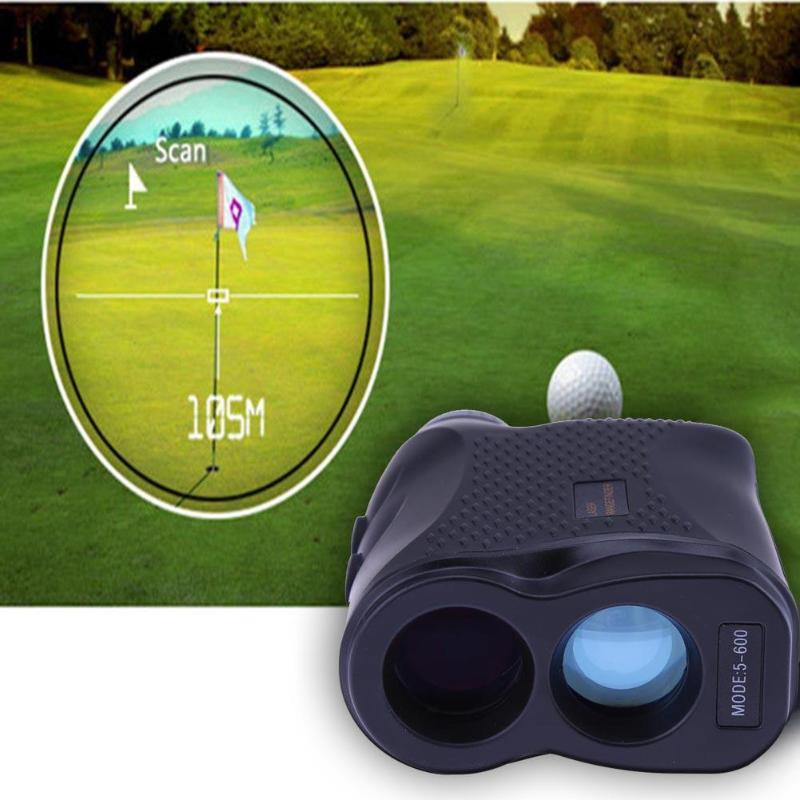 600M Monocular Telescope Laser Rangefinder Telescope High Quality For Hunting Golf Range Finder Measure Distance Speed Meter