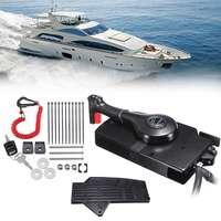 Подвесной двигатели для Автомобиля Боковое крепление с 14 булавки Кабель Лодка на дистанционном управлении коробка Mercury включают вперед/Обр