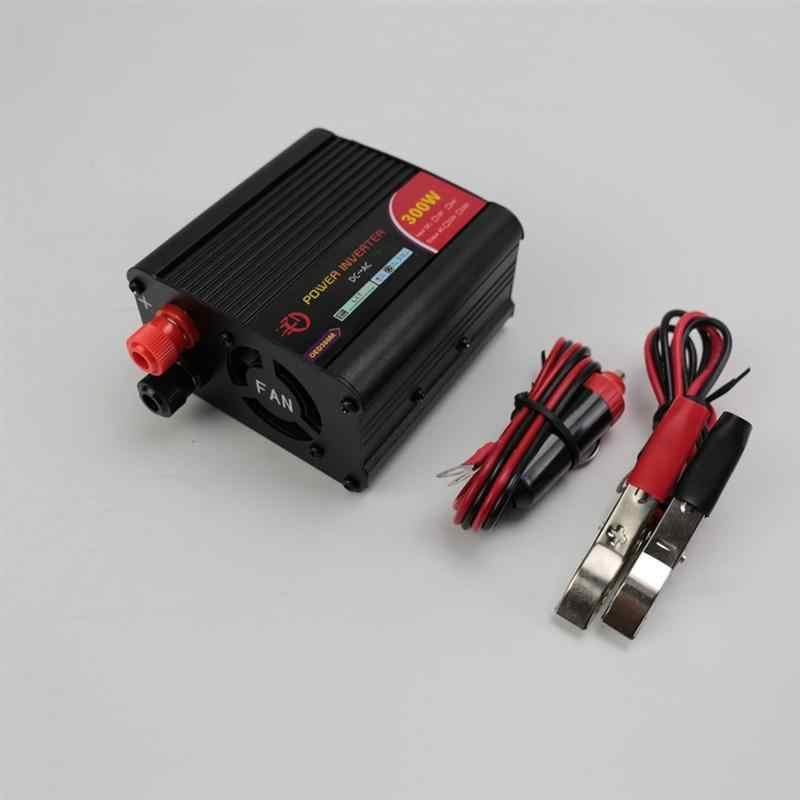 1 pc 1500 W 800 W 300 W samochodowa przetwornica napięcia 12 V do 110 V DC do konwerter AC zasilacz samochodowy adapter konwerter Auto Power (czarny)