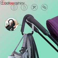 BalleenShiny аксессуары для детских колясок многофункциональная детская коляска крюк покупки крючок для коляски реквизит вешалка металлические удобные крючки