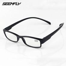 Eyewear Reading-Glasses Clear-Lens Optical-Spectacle Ultralight Full-Frame Women New