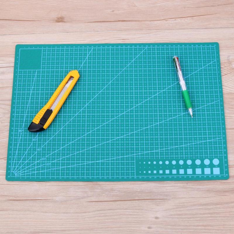 A3 PVC Cutting Mat Double sided Cutting Pad Patchwork Sewing Tools Self healing Manual DIY Cut Tool Cloth Making Cutting Board|Cutting Mats| |  - title=