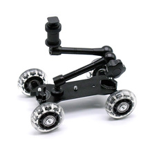 Мобильный прокатный раздвижной Долли стабилизатор слайдер фигуриста 11 «Артикуляционная Волшебная ручная камера рельс стенд фотография автомобиля для GoPro 7 6