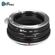Fikaz Lens Halkası Adaptörü Zenit M39 Nikon Z6/7 Z Kamera için Minolta MD için bisiklete Monte sony A Monte M42