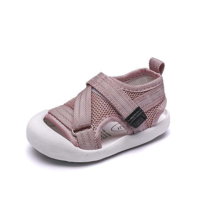 0bfabbaa33e0 Children's Shoes 2019 Summer New Kids Sandals Soft Toe Wrapped Mesh Fabric Toddler  Baby Boys And Girls Beach Shoe 1 2 3 Years