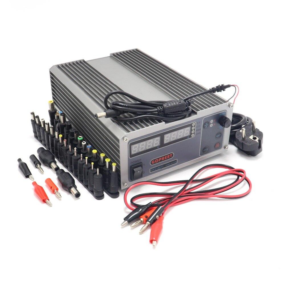 CPS-6011 Mini réglable Compact haute puissance numérique DC alimentation 60V 11A laboratoire alimentation Kit de prise de courant continu