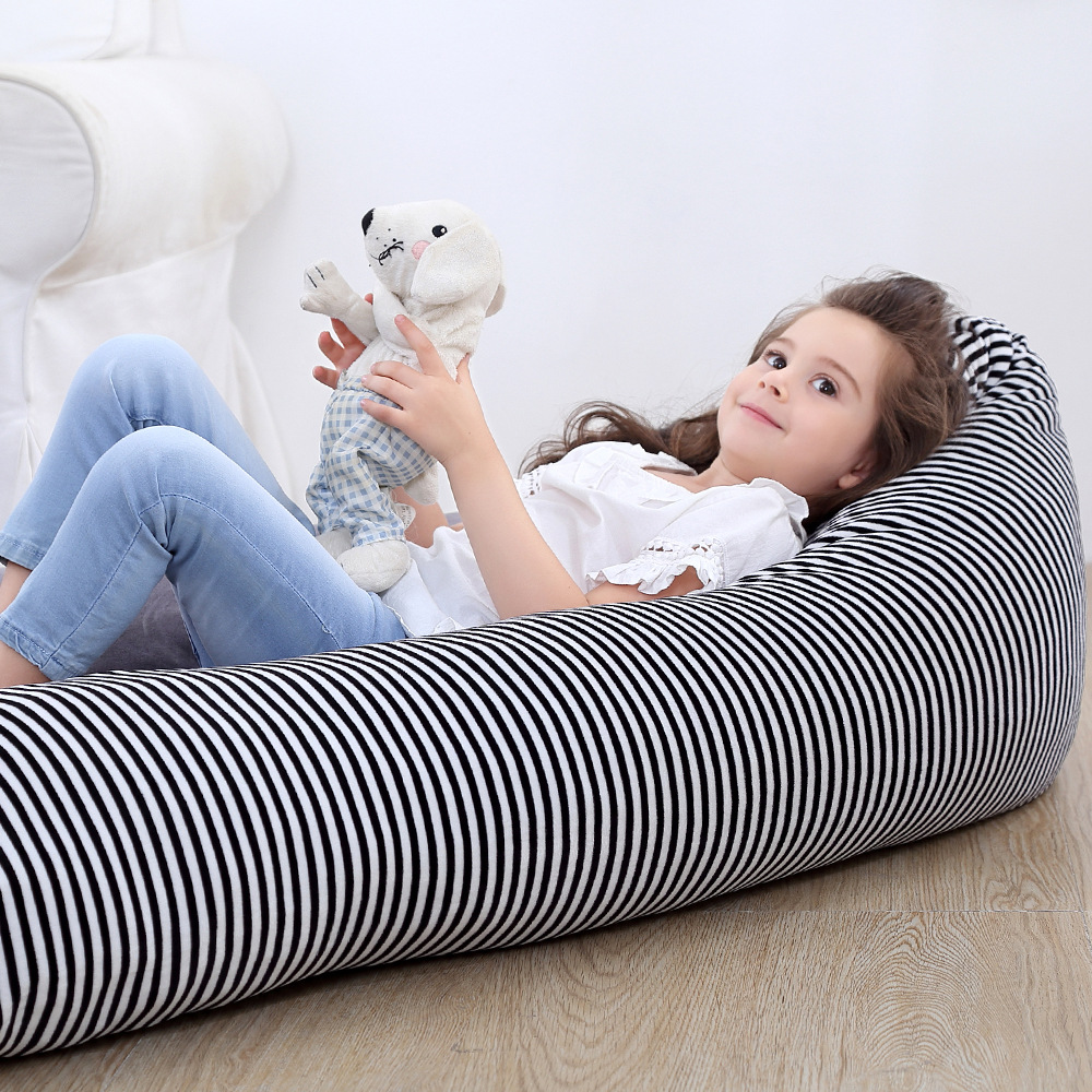 Home large capacity woven moving bag crystal velvet storage bag custom thickened portable x children 39 s toy storage bag bean bag in Storage Bags from Home amp Garden