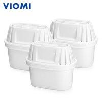 Новый оригинальный XIAOMI 3 шт. VIOMI Мощный 7-Слои фильтры для чайников двойной бактерий предупреждения фильтры для воды