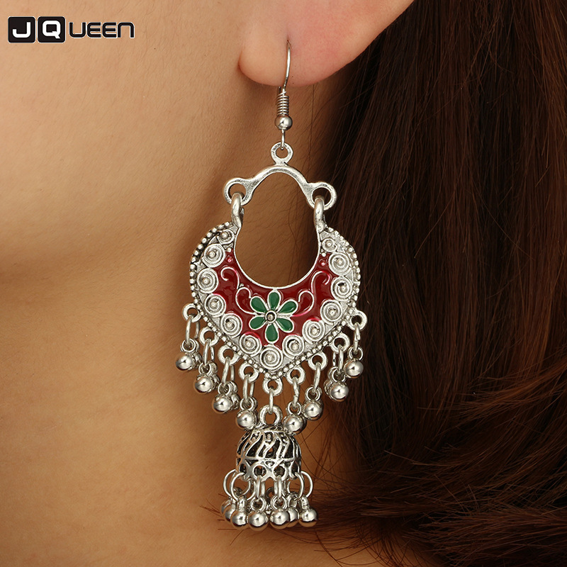 1 Pair Women/'s Vintage Bohemian Earrings Long Tassel  Pendant Earrings Jewellery