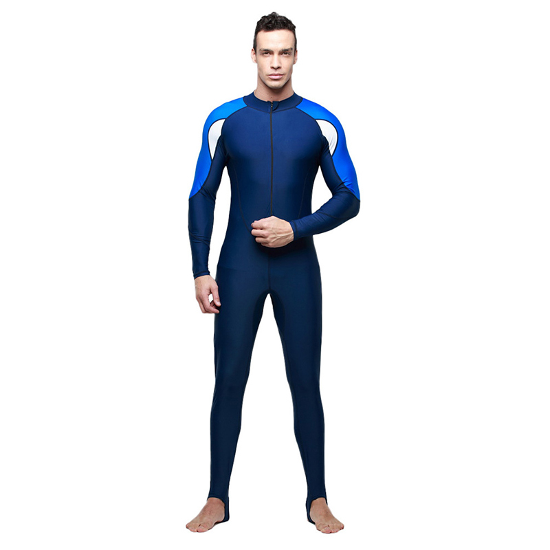 Sbart One piece Surf Diving Suit Men Women Wetsuit UV Protective Clothing Jellyfish Quick drying Swimsuit in Wetsuit from Sports Entertainment