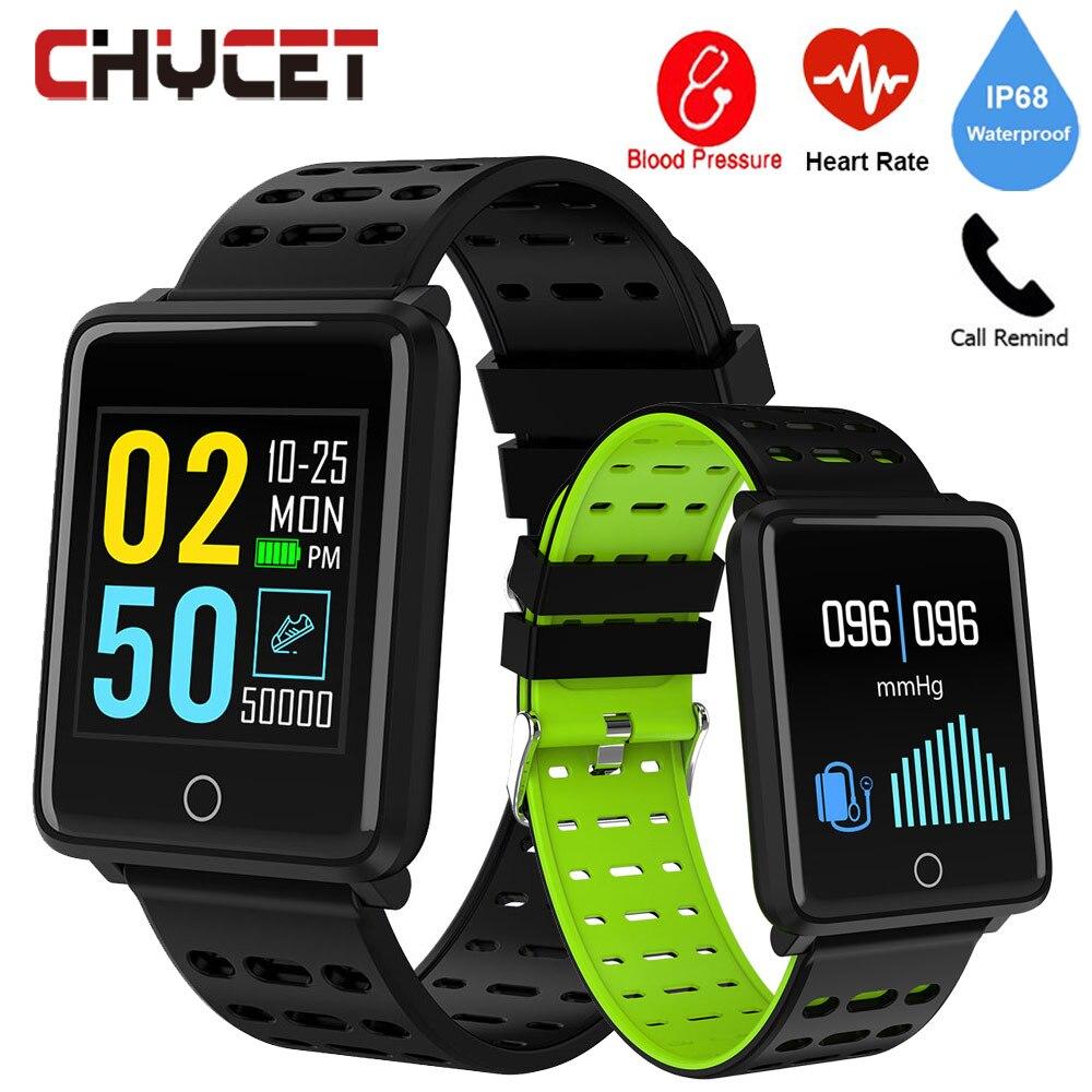 Smart Watch IP68 Waterproof Men Women Smartwatch GPS Fitness Tracker Watch Blood Pressure Wearable Device Sport For Android IOS