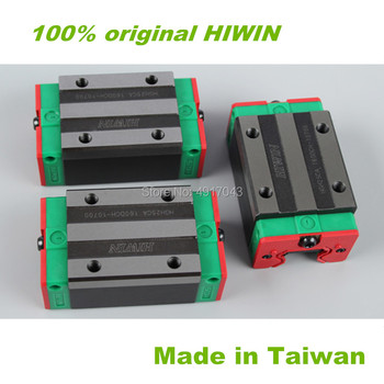 Free shipping 4pcs 100% original Hiwin HGH20CA linear narrow blocks match with HGR20 linear guide rail