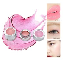 Single Color Glitter Pearl Eyeshadow Eye Pigment Highlighter Shading Powder Waterproof Shimmer Eyeshadow Eyeliner Pencil Pallete(China)