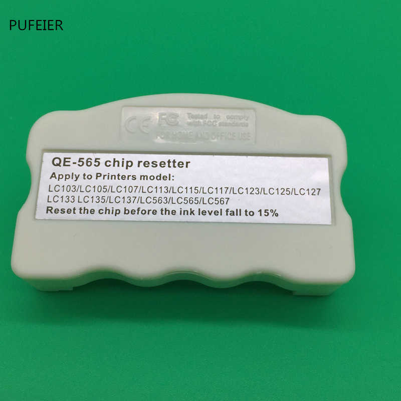 Universal Chip Resetter untuk Brother LC103 LC105 LC107 LC113 LC115 LC117 LC123 LC125 LC127 LC133 LC135 LC137 LC563 LC565 LC567