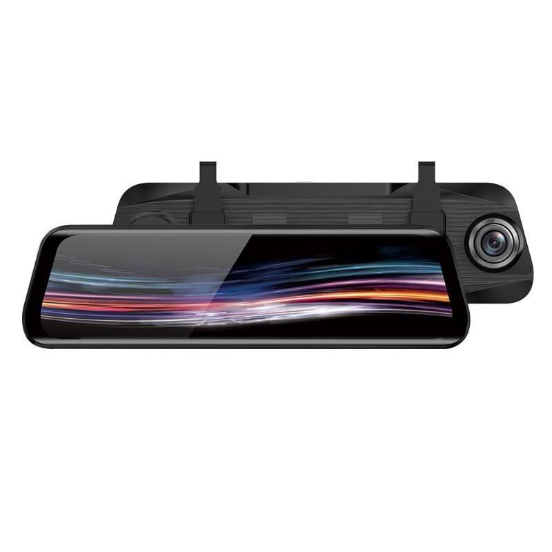 Anytek T11 + 9.66 Pouces rétroviseur caméra dvr 1080 p + 720 p ADAS caméra de tableau de bord camera de voiture enregistreur vidéo 70mai