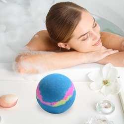 150 г 1 шт., соль для ванны, шар для глубокой морской ванны, соль для тела, эфирное масло для тела, отбеливающий избавление от стресса