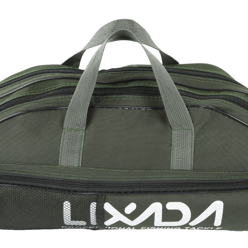 Lixada 100/130/150cm Fishing Bag Oxford Cloth Folding Fishing Rod Reel Bag Fishing Tackle Storage Bags Travel Carry Case Pesca