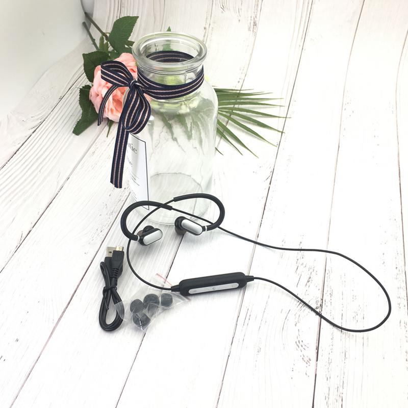 Image 2 - Portable Earphone 4.2 Bluetooths Pluggable Ear Hook Earbuds Anti slip Sweat proof Stereo Hd Bass Sports Music Devices With Mic-in Bluetooth Earphones & Headphones from Consumer Electronics