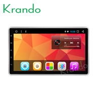 Krando Android 8.1 10.1 IPS Full touch car multimedia player for 2 DIN Universal with dvd car radio gps navigation Bluetooth