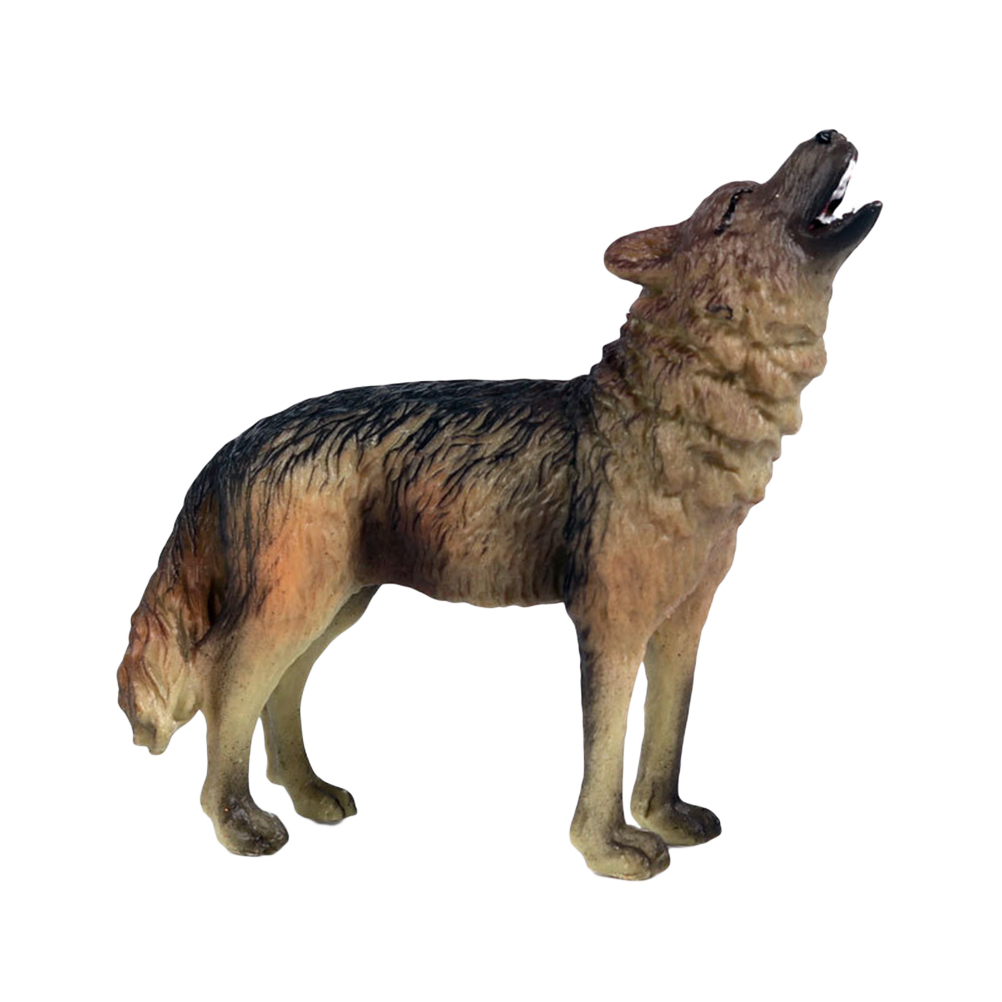 Desk-Decoration Animal-Model Wolf Model-Ornaments Simulation Creative Kids PVC for Boy