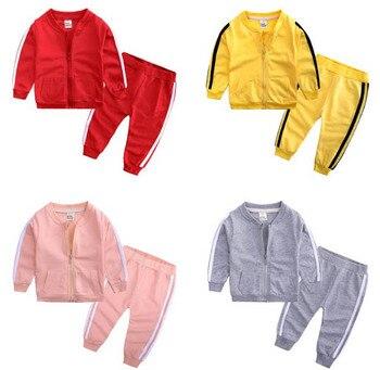 f17e13db Ropa de bebé conjuntos de trajes deportivos para niños recién nacidos
