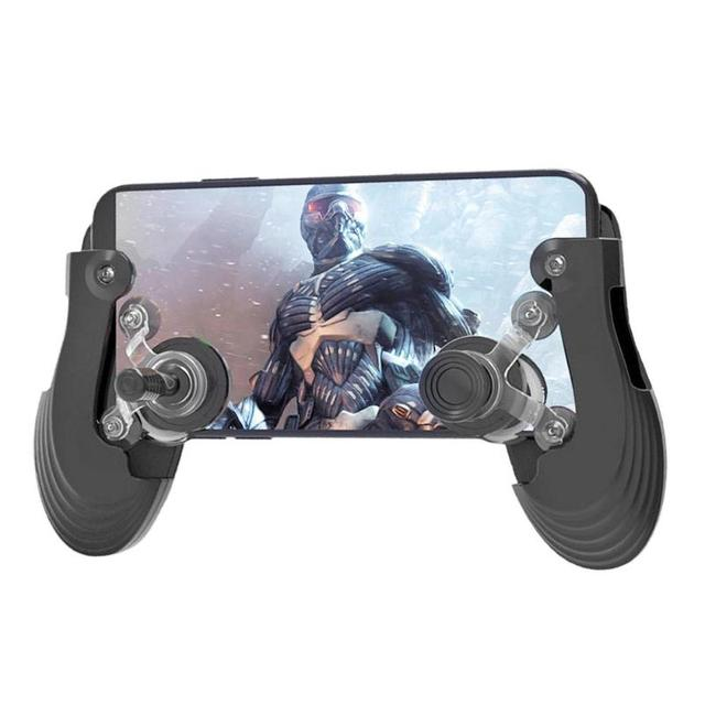 ALLOYSEED Adjustable Gamepad for Pubg Controller Handheld Grip Mobile Game Pad Touchscreen Mobile Adjustable game joystick