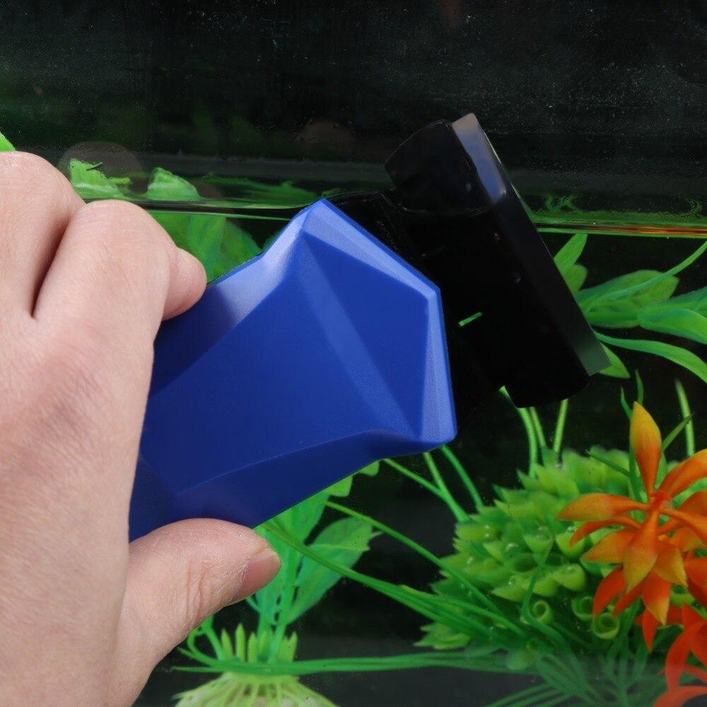 Image 5 - Аквариум для рыбок, щетка для чистки Стекло водорослей скребок магнитный очиститель скруббер для аквариума, окна магниты чистящие щетки-in Инструменты для чистки from Дом и животные