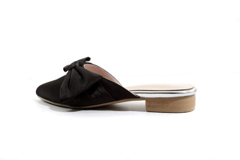 Señaló Conciso Zapatos Verano Snc Mude Elegantes as Color Plano Picture Moda Zapatillas Puro Moraima Damas Nueva De 2019 Negro wXR4v