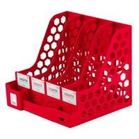 Desk Organizer Magazine File Racks Book Stand DIY Storage Box Stationery Holder File Tray Bookends Office Organizer