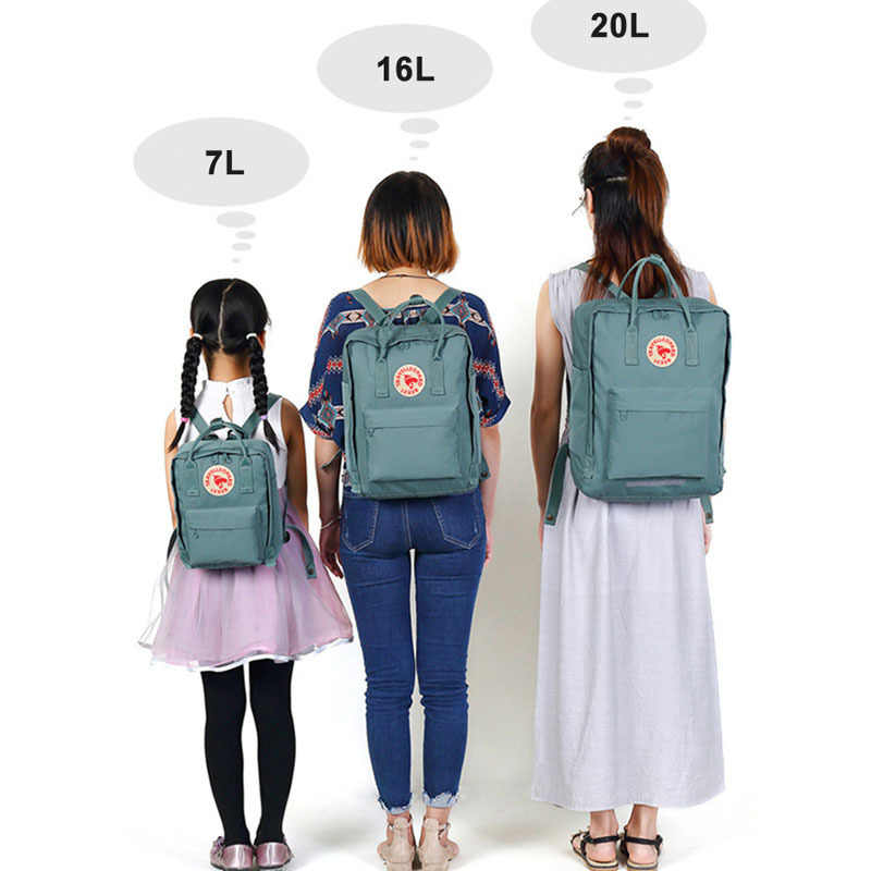 1215e1f23 ... 7L Kanken School Bags New Arrival Design Children Waterproof Backpack  Student Kid Mochila Kanken Classic Mini