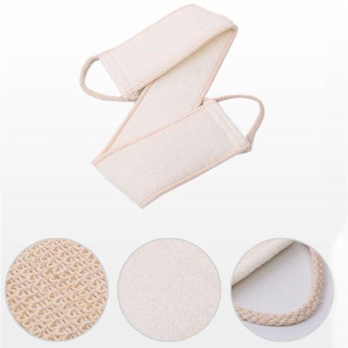 Hot Exfoliating Back Scrubber Bath Shower Strap Loofah Spa Skin Brush Sponge Body 4