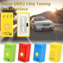 Fuel Economizer Plug and Drive SuperOBD2 Performance Chip Tuning Box for Benzine Cars(China)