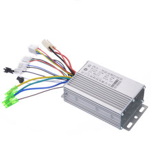 High Quality 1Pcs DC 36V/48V 350W Electric Bicycle E-bike Scooter Brushless DC Motor Controller 103x70x35mm(China)