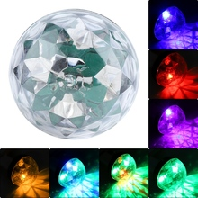 3W Colorful RGBW Mini USB Disco Light Cellphone Portable Crystal Magic Ball Lamp For Party DJ
