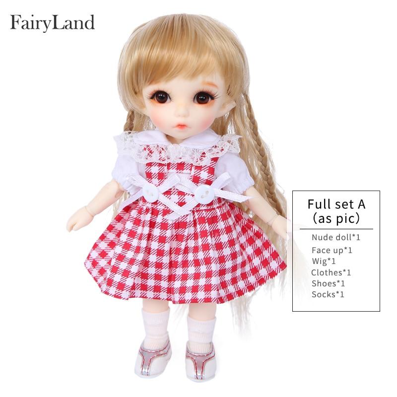 Envío gratis Fairyland Pukifee Ante 1/8 BJD muñecas figura de - Muñecas y accesorios - foto 5