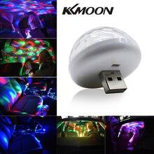Для внутреннего оформления автомобиля неоновый светлый цветной светодиод USB RGB Декор музыкальная лампа атмосферная лампа Автомобильные аксессуары Автомобильные огни новое поступление