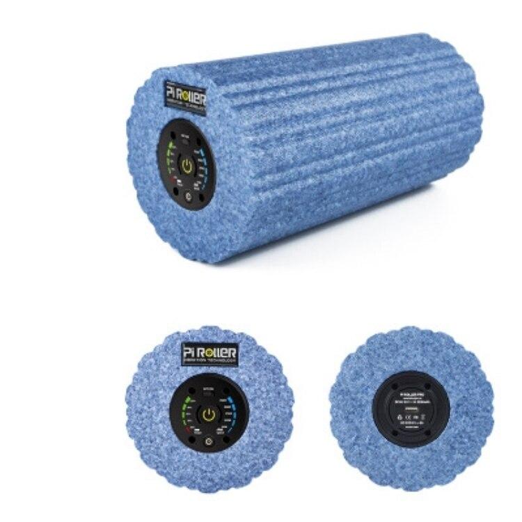 2200 mAh 5 vitesse vibrant rouleau en mousse professionnel vibrant électrique rouleau déclencheur Muscle Relax Yoga Gym exercice masseur
