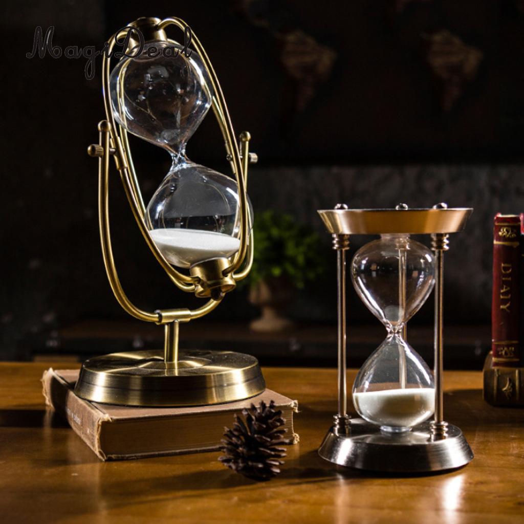 MagiDeal 30 分の砂時計砂時計の砂クロックタイマーデスクトップ時計ホームオフィスの装飾  グループ上の ホーム&ガーデン からの 砂時計 の中 3