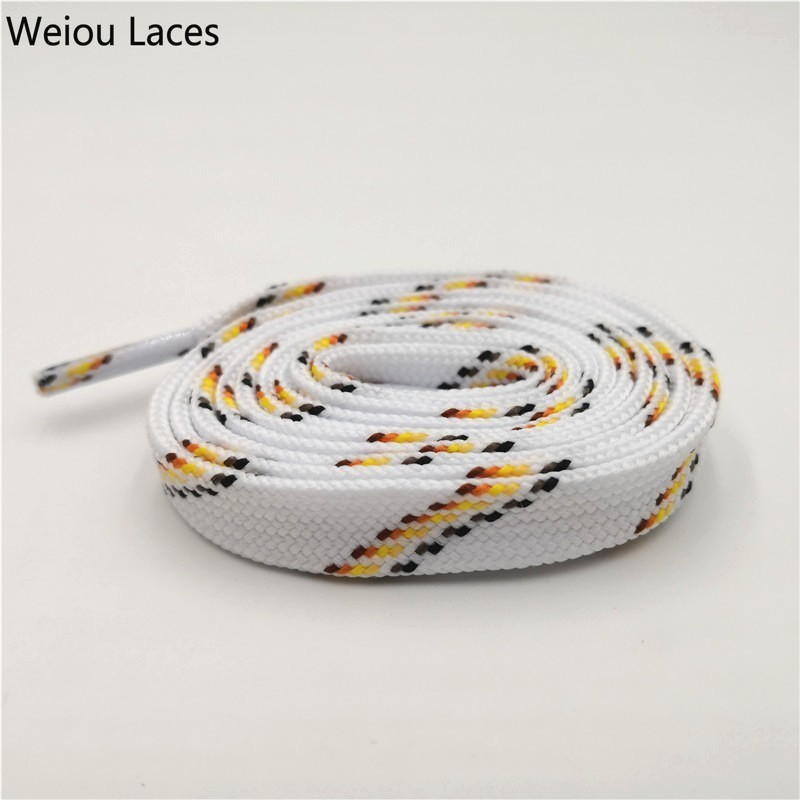Weiou Athletic Laces Cap Pants Rope Belt High Quality Sports Casual Shoelace Striped Cross Grain Sneakers Bootlace 1.1cm WidthWeiou Athletic Laces Cap Pants Rope Belt High Quality Sports Casual Shoelace Striped Cross Grain Sneakers Bootlace 1.1cm Width
