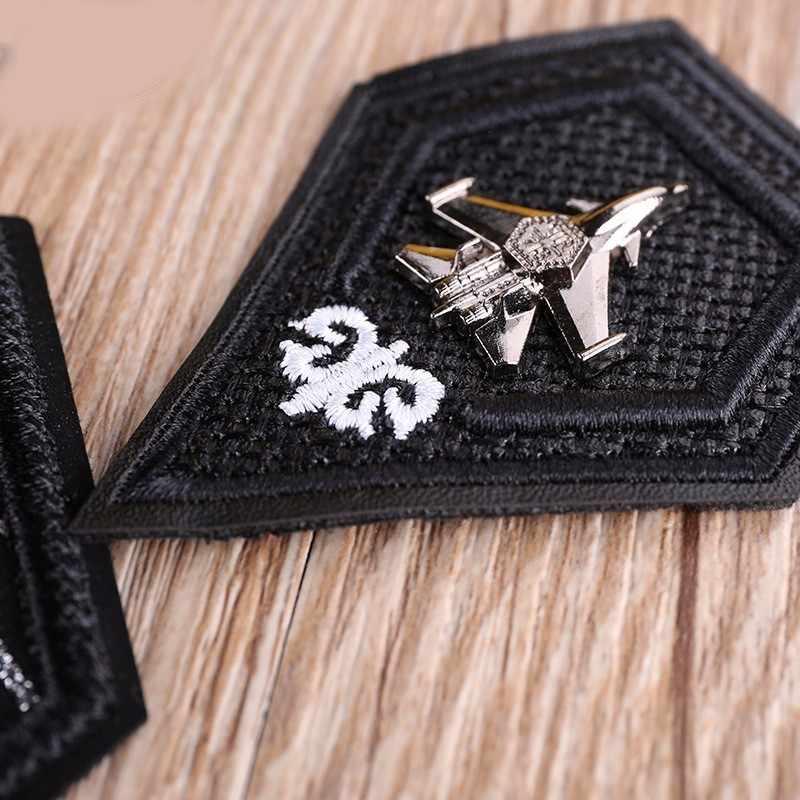 Nouveau bricolage noir blanc fer sur cuir 3D crâne Badge pour vêtements sacs jean broderie autocollant personnalisé pour vêtements vêtement patchs