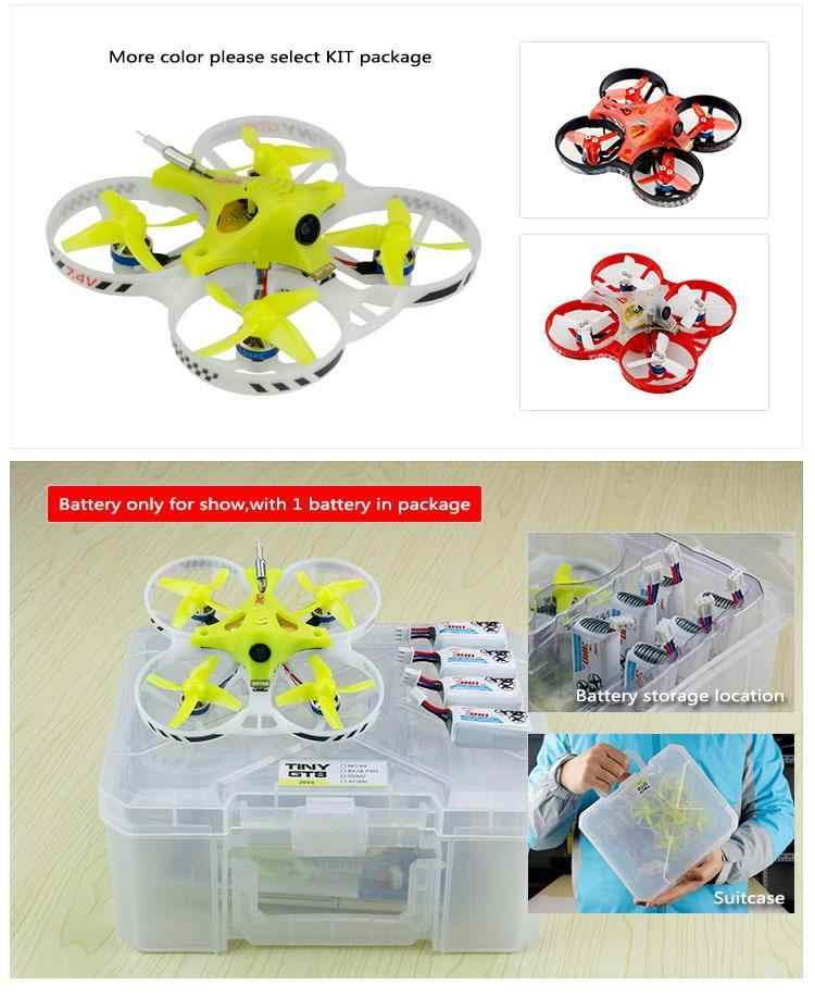 LeadingStar KINGKONG/LDARC крошечные GT8 2019 V2 2 S FPV Racing Drone Betaflight F3 10A Blheli_S 800TVL Cam 5,8G 25 МВт VTX 2 S
