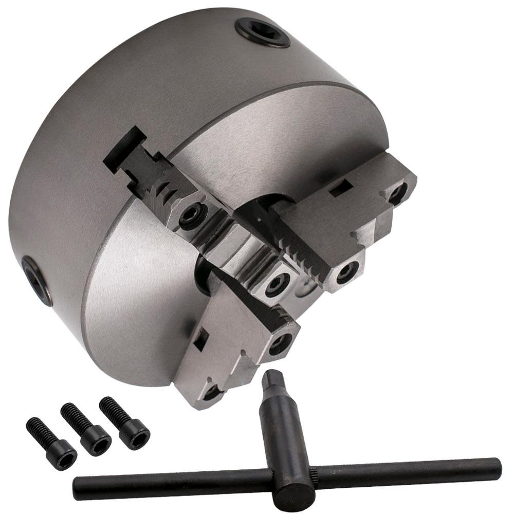 "6/"" 3-Jaw Self-Centering Chuck Lathe Milling Internal External Grinding Machines"